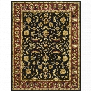 Safavieh Heritage 12' X 18' Hand Tufted Wool Pile Rug in Black and Red