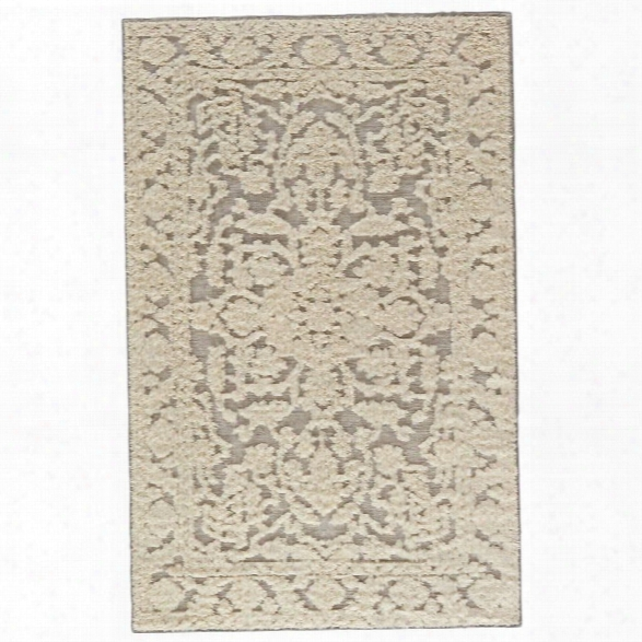 Jaipur Living Nikki Chu 8' X 11' Wool Rut In Neutral Gray