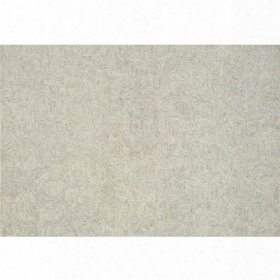 Loloi Lyle 9'3 X 13' Hand Hooked Wool Rug In Mist
