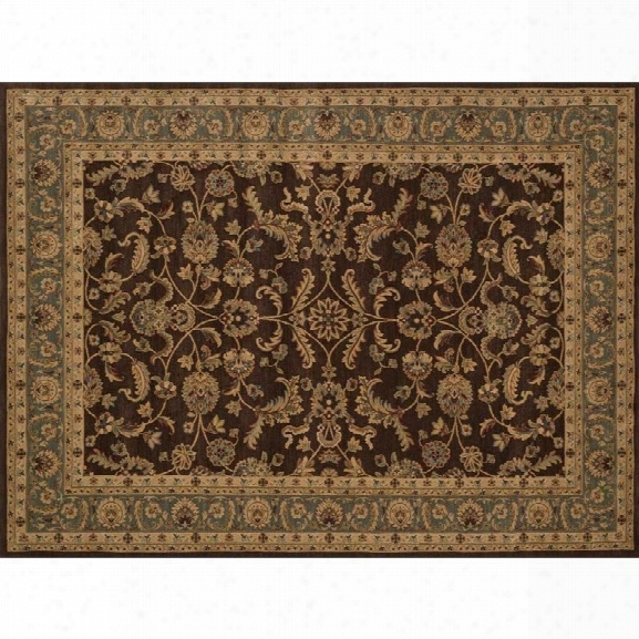 Loloi Stanley 9'8 X 12'8 Power Loomed Rug In Brown And Blue