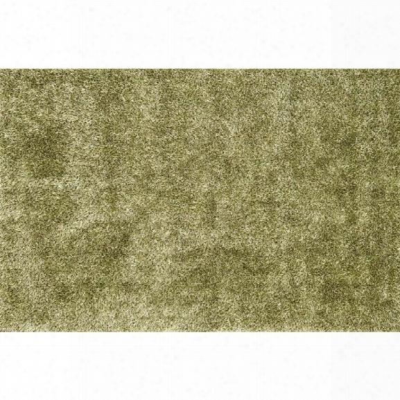 Loloi Carrera 7'9 X 9'9 Hand Tufted Shag Rug In Green