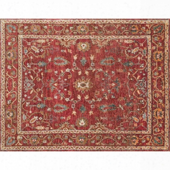 Loloi Empress 12' X 15' Hand Knotted Jute Rug In Red