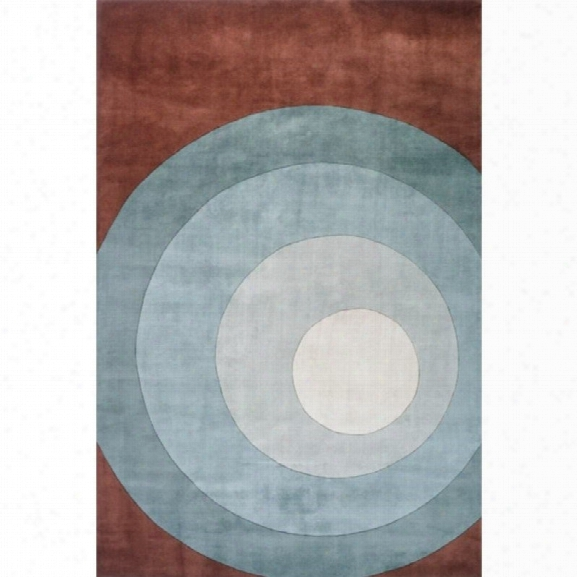 Momeni New Wave 8' X 11' Rug In Teal