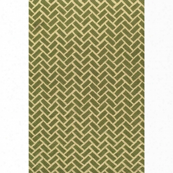 Momeni Geo 7'6 X 9'6 Rug In Green