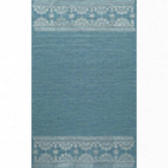 Momeni Lace Embroided 8' X 10' Rug In Teal