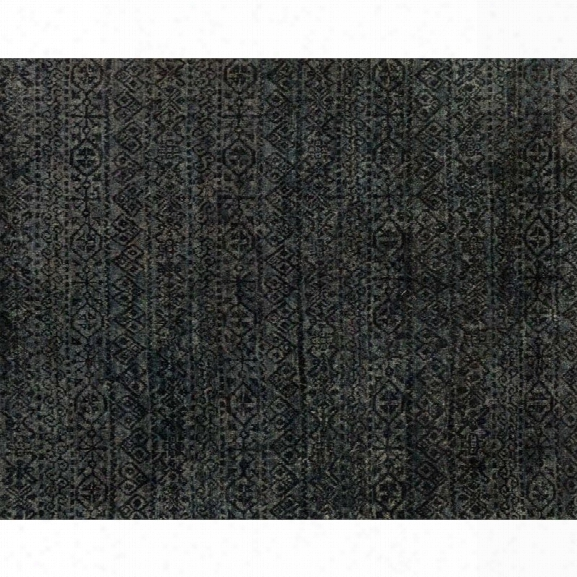 Loloi Nomad 9'6 X 13'6 Jute Rug In Midnight