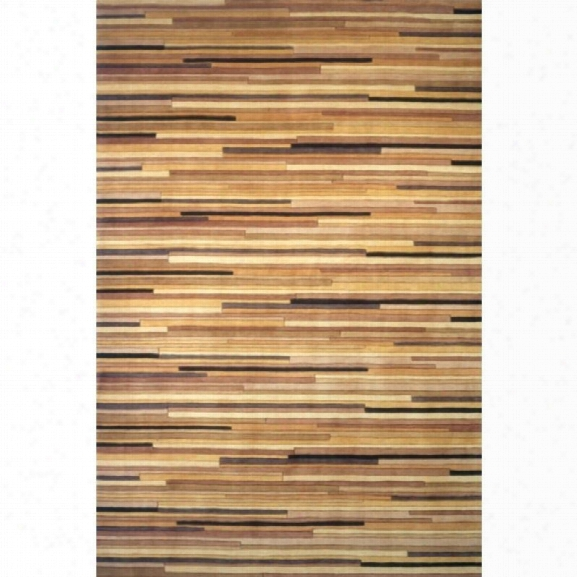 Momeni New Wave 7'6 X 9'6 Rug In Natural