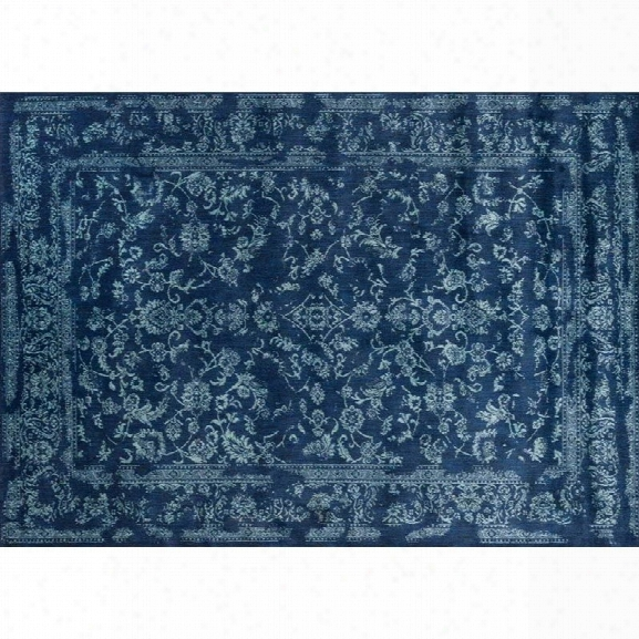 Loloi Florence 12' X 15' Rug In Navy And Aqua