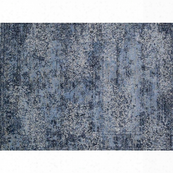 Lolo Iviera 9'2 X 12'7 Power Loomed Rug In Blue And Gray