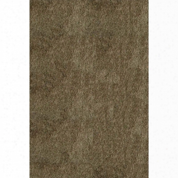 Momeni Luster Shag 9' X 12' Rug In Light Taupe