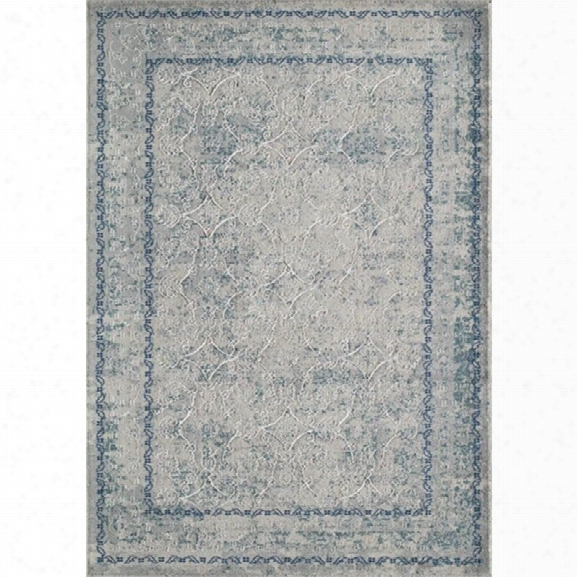 Momeni Luxe 9'3 X 12'6 Rug In Blue