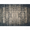Loloi Journey 12' x 15' Power Loomed Wool Rug in Indigo and Beige