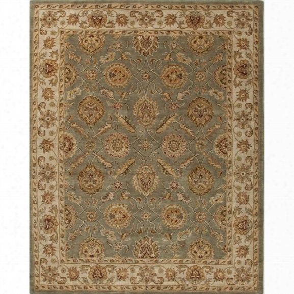 Jaipur Rugs Mythos 12' X 15' Hand Tufted Wool Rug In Green And Ivory