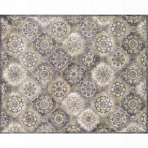 Loloi Avanti 9'3 X 13' Power Loomed Rug In Gray And Sage