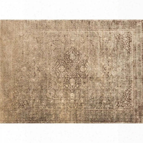 Loloi Nyla 12' X 15' Power Loomed Rug In Sand And Brown