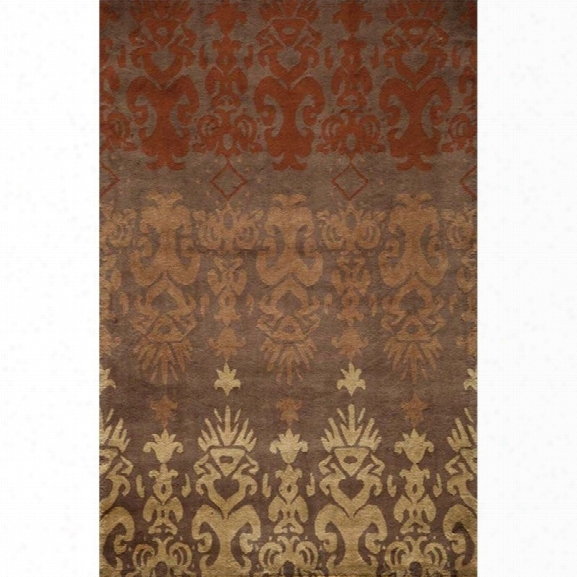 Momeni Habitat 8' X 10' Rug In Brown