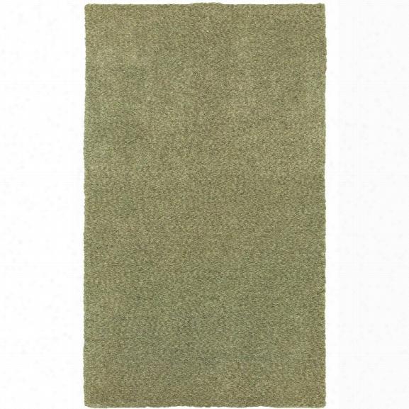 Oriental Weavers Heavenly 10' X 13' Hand Crafted Rug In Green