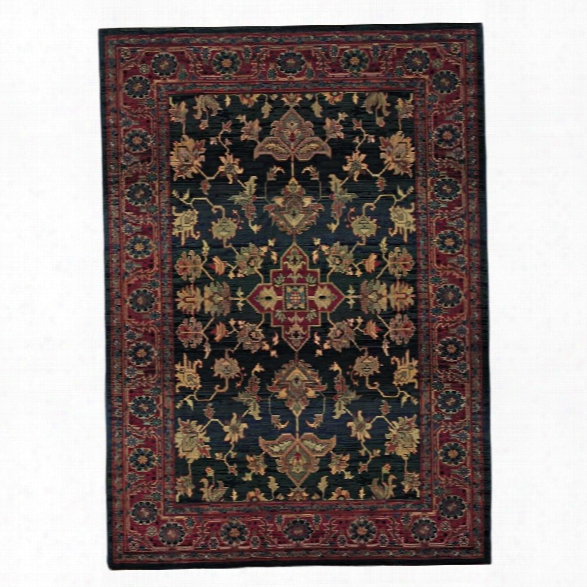 Oriental Weavers Kharma 9'9 X 12'2 Machine Woven Rug In Blue