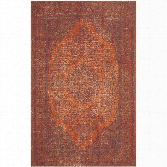 Safavieh Classic Vintage Red Traditional Rug - 8' X 11'