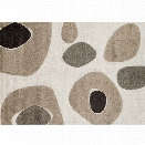 Loloi Enchant 7'7 x 10'6 Power Loomed Rug in Ivory