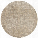 Loloi Florence 9'6 Round Rug in Stone and Ivory