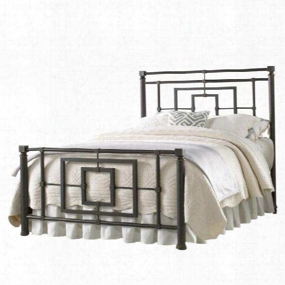 Fashion Bed Sheridan Full Metal Bed In Blackened Bronze