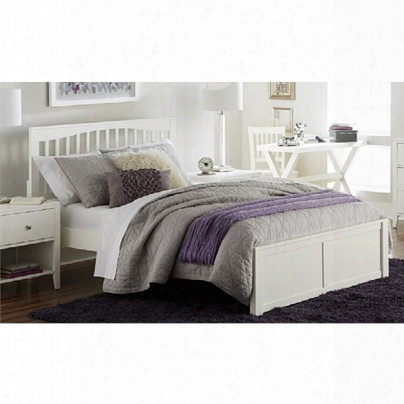 Ne Kids Pulse King Slat Bed In White