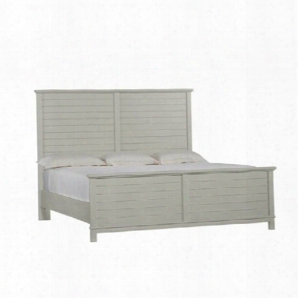Stanley Furniture Coastal Living Resort California King Panel Bed In Morning Fog