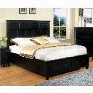 Furniture of America Jayleen California King Platform Bed in Black