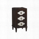 Lexington Kensington Place Lucerne 3 Drawer Nightstand in Oxford Brown