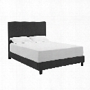 Picket House Furnishings Jana Queen Bed Thomas PU in Black