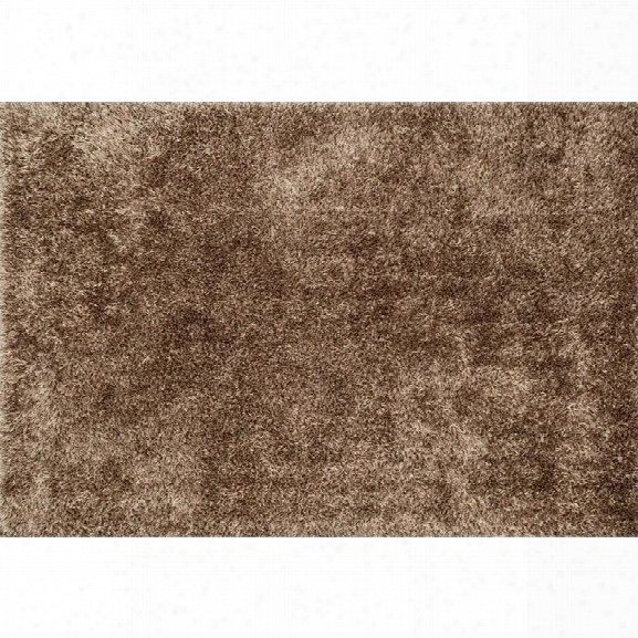 Loloi Carrera 7'9 X 9'9 Hand Tufted Shag Rug In Beige