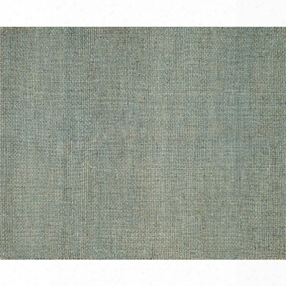 Loloi Eco 7'9 X 9'9 Hand Woven Jute Rug In Blue