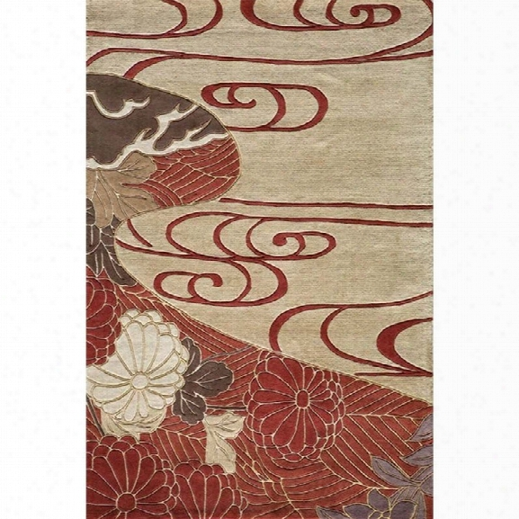 Momeni Koi 8' X 11' Rug In Red