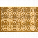 Loloi Brighton 7'10 x 11' Hand Hooked Wool Rug in Gold