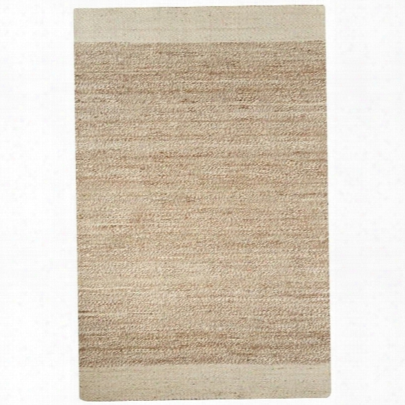 Jaipur Rugs Naturals Tobago 9' X 12' Jute Rug In Ivory And Natural