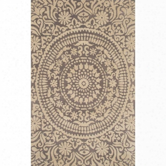 Jaipur Rugs Pendant 5' X 8' Hand Tufted Wool Rug In Gray