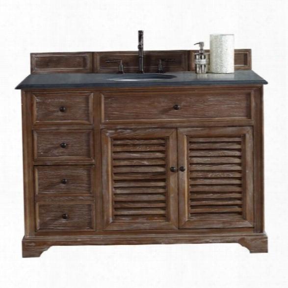 James Martin Savannah 48 Single Bathroom Vanity In Driftwood-2cm Santa Cecilla