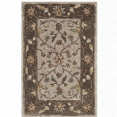 Safavieh Total Performance 9' X 12' Hand Hooked Rug in Ivory and Taupe