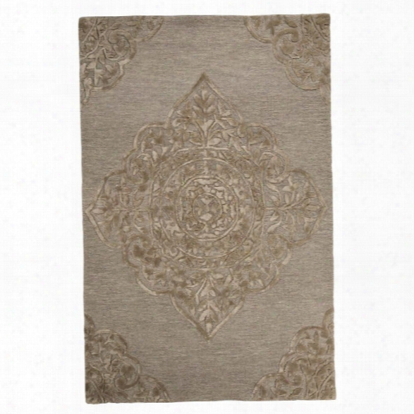 Ashley Zavier 8' X 10' Rug In Taupe