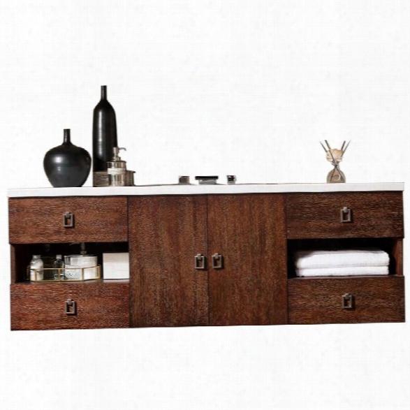 James Martin Sonoma 60 Single Bathroom Vanity In Coffee Oak