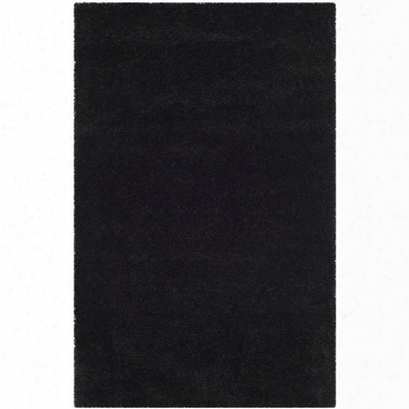 Safavieh Milan Shag 8' 6 X 12' Rug In Black