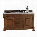 James Martin Brookfield 60 Single Bathroom Vanity in Oak-No Top