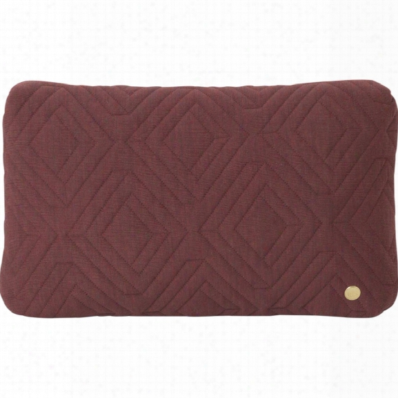 10 X 16 Quilt Cushion In Rust Design By Ferm Living