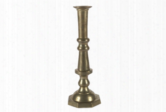 "12"" Tall Georgian Candlestick Design By Sir/madam"