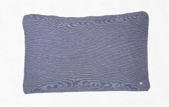 16 X 24 Quilt Cushion In Light Blue Design By Ferm Living