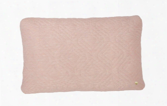 16 X 24 Quilt Cushion In Rose Design By Ferm Living