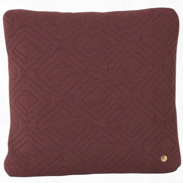 18 X 18 Quilt Cushion In Rust Design By Ferm Living