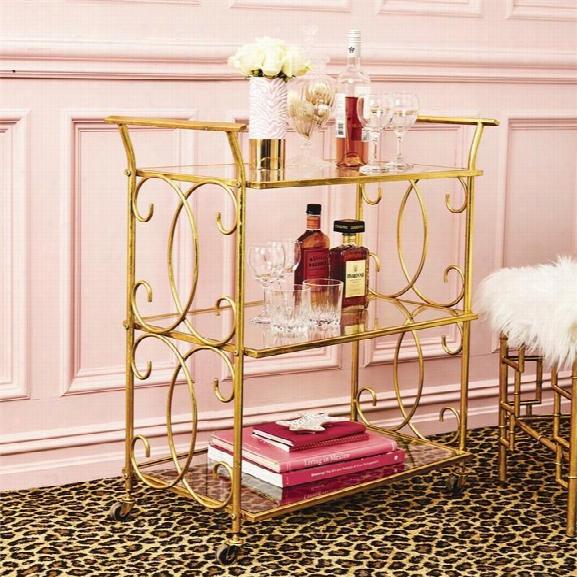 3 Tiered Bar Cart Design By Twos Company
