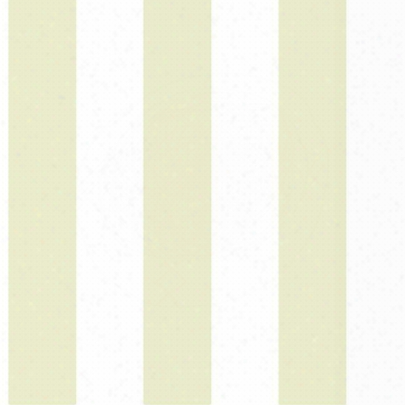 "3"" Stripe Wallpaper In Beige And Ivory Design By York Wallcoverings"